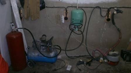 Házi készítésű kompresszor