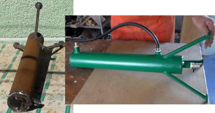 DIY dehumidifier for compressor
